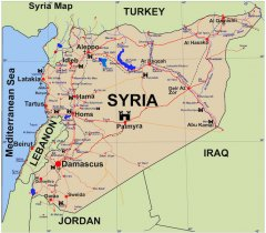 Syrien Map